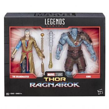 Marvel Legends Series 80th Anniversary The Grandmaster and Korg Action Figure 2 Pack